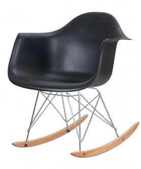 Кресло-качалка DAW ROCK LMZL-PP620A Черный