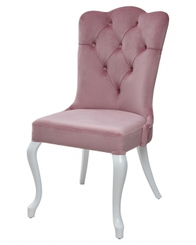 Стул SULTAN розовый/ белый