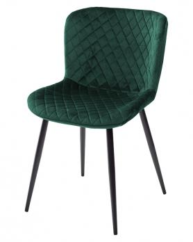 Стул VARESE G062-18 зеленый, велюр