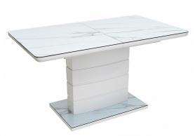 Стол ALTA 140 Белый мрамор