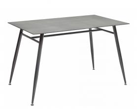 Обеденный стол DIRK Бежево-серый