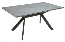 Обеденный стол LAKE 160 Темно-серый камень