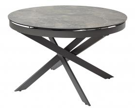 Обеденный стол TRENTO 120 итальянская керамика под мрамор