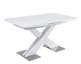 Обеденный стол CONTI Белый глянцевый