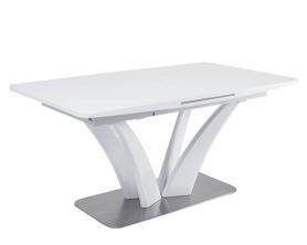 Обеденный стол FREYA белый глянцевый