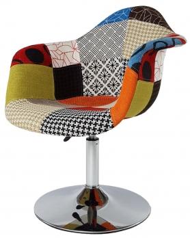 Барное кресло Eames Пэтчворк Мультиколор