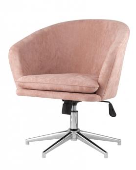 Кресло Харис пыльно-розовый велюр