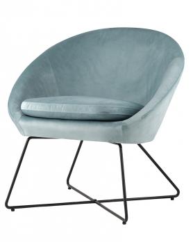 Кресло КОЛУМБИЯ Пыльно-голубое