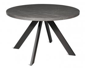 Обеденный стол Паркер 120 Серый камень