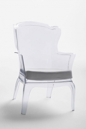 Кресло 689A Прозрачное