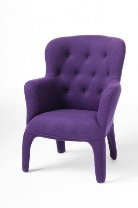 Кресло 689V Пурпурное