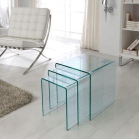 Набор приставных столиков ND-01 Прозрачный