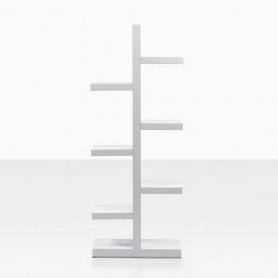 Вертикальный стеллаж W-286 Белый