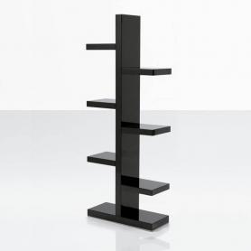 Вертикальный стеллаж W-286 Черный