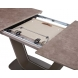 Дополнительное фото №1 - Обеденный стол OASIS-160 Керамика Мокка