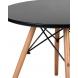 Дополнительное фото №2 - Детский стол EAMES DSW черный