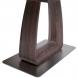 Дополнительное фото №2 - Обеденный стол VETRO 140 Кэмел / Белый