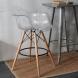 Дополнительное фото №1 - Барный стул EAMES DAW Clear прозрачный
