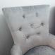 Дополнительное фото №3 - Кресло BOSCO Серый велюр / орех