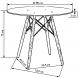 Дополнительное фото №1 - Стол Eames DSW d90 см стеклo