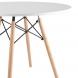 Дополнительное фото №1 - Обеденный стол EAMES DSW d90 белый