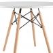 Дополнительное фото №2 - Обеденный стол EAMES DSW d90 белый