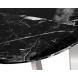 Дополнительное фото №0 - Столик журнальный черный (искусственный мрамор) 33FS-ET2029-BS