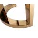 Дополнительное фото №2 - Консоль Garda Decor черный лак/золото GD-CST002