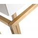 Дополнительное фото №3 - Консоль с ящиками белое стекло/матовое золото KFG070