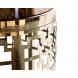Дополнительное фото №1 - Журнальный стол круглый золотой 13RXFS5080L-GOLD
