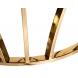 Дополнительное фото №1 - Столик журнальный 13RXET3103-GOLD