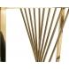 Дополнительное фото №2 - Столик журнальный 13RXET8083M-GOLD черное стекло / золото