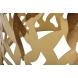 Дополнительное фото №0 - Столик журнальный GY-ET8158GOLD прозрачное стекло / золото