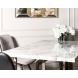 Дополнительное фото №2 - Стол обеденный белый 30F-987W5501-3