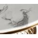 Дополнительное фото №0 - Стол обеденный круглый иск. мрамор 76AR-DT805