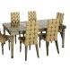Дополнительное фото №0 - Дизайнерский обеденный стол ART-2876-DT6A