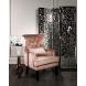 Дополнительное фото №3 - Кресло велюровое 24YJ-7004-06418/1 дымчато-розовое