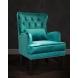 Дополнительное фото №4 - Кресло бархатное 24YJ-7004-07342/1 зеленое