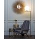 Дополнительное фото №4 - Кресло велюровое 46AS-AR3092 серо-голубое