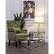 Дополнительное фото №4 - Кресло велюровое светло-зеленое (с подушкой) 24YJ-7004-040