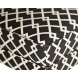 Дополнительное фото №2 - Кресло черно-белое (лён) DY-734