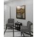 Дополнительное фото №6 - Кресло черно-белое (лён) DY-734