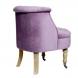 Дополнительное фото №1 - Кресло HD2202868-BG сиреневое на колесиках