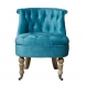 Дополнительное фото №0 - Кресло бирюзовое HD2202868-BBD на колесиках