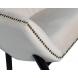 Дополнительное фото №2 - Кресло низкое велюровое бежевое PJC379-PJ634