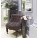 Дополнительное фото №1 - Кресло PJC742-PJ843 серо-фиолетовое