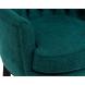 Дополнительное фото №2 - Кресло велюровое PJC741-PJ618 темно-бирюзовое