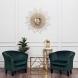 Дополнительное фото №7 - Кресло велюровое PJS30801-PJ622 изумрудное