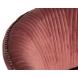 Дополнительное фото №2 - Кресло велюровое PJS30801-PJ626 темно-розовое