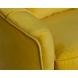 Дополнительное фото №1 - Кресло велюровое ZW-555-06476 желтое
